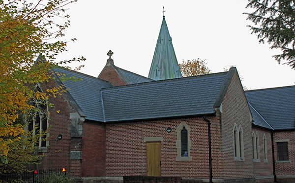 Longshaw Construction Commercial church roofing